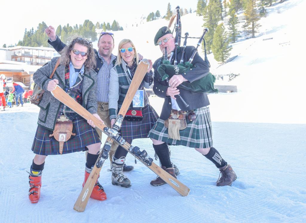 Kilt-Skitag auf der Turracher Höhe